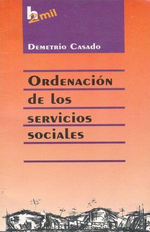 ORDENACION DE LOS SERVICIOS SOCIALES