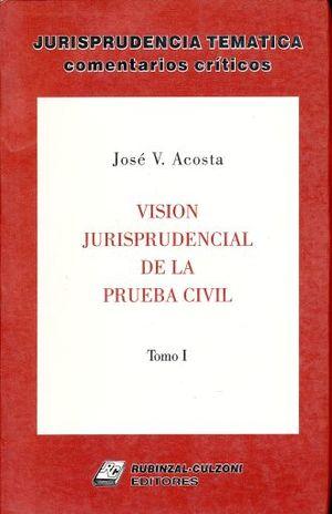 VISION JURISPRUDENCIAL DE LA PRUEBA CIVIL / TOMO 1