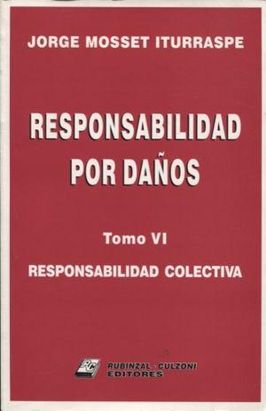 RESPONSABILIDAD POR DAÑOS. RESPONSABILIDAD COLECTIVA / TOMO VI