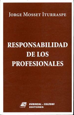 RESPONSABILIDAD DE LOS PROFESIONALES