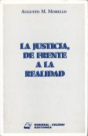 JUSTICIA DE FRENTE A LA REALIDAD