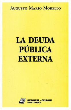 DEUDA PUBLICA EXTERNA, LA