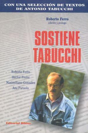 SOSTIENE TABUCCHI