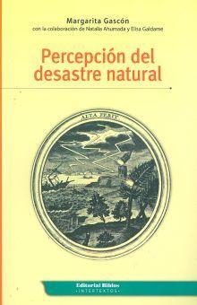 PERCEPCION DEL DESASTRE NATURAL