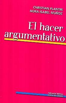 HACER ARGUMENTATIVO, EL