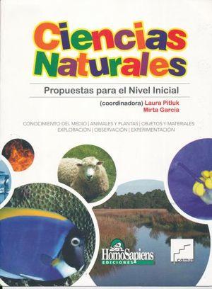 CIENCIAS NATURALES. PROPUESTA PARA NIVEL INICIAL