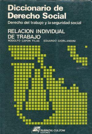 DICCIONARIO DE DERECHO SOCIAL / TOMO 1