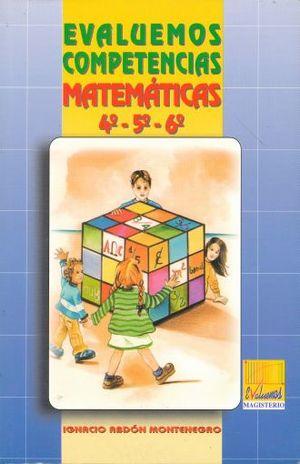 EVALUEMOS COMPETENCIAS MATEMATICAS 4 5 6