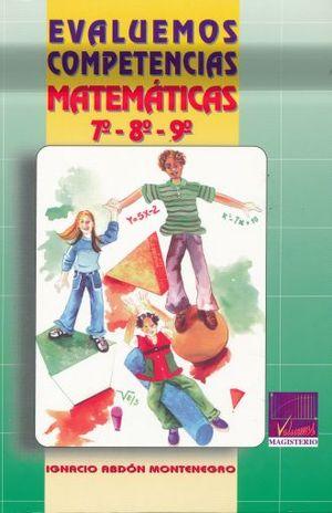 EVALUEMOS COMPETENCIAS MATEMATICAS 7 8 9