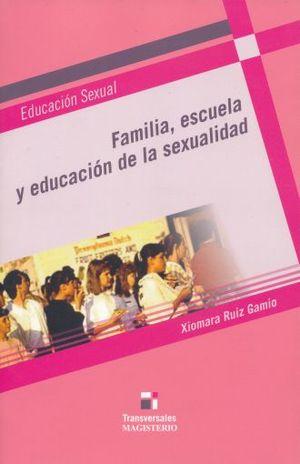 FAMILIA ESCUELA Y EDUCACION DE LA SEXUALIDAD