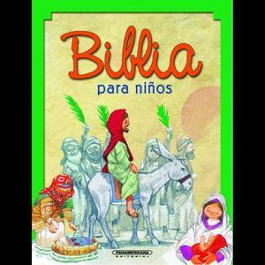 SAGRADA BIBLIA PARA LOS NIÑOS DEL PUEBLO CATOLICO / PD.