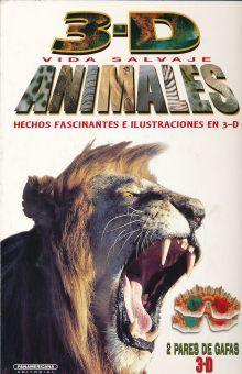 3-D VIDA SALVAJE ANIMALES / PD.