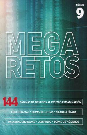 MEGA RETOS # 9. 144 PAGINAS DE DESAFIOS AL INGENIO E IMAGINACION