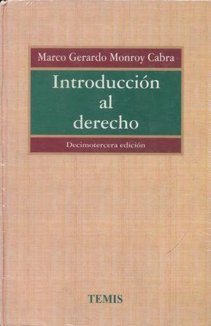 INTRODUCCION AL DERECHO / 13 ED. / PD.