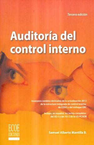AUDITORIA DEL CONTROL INTERNO / 3 ED.
