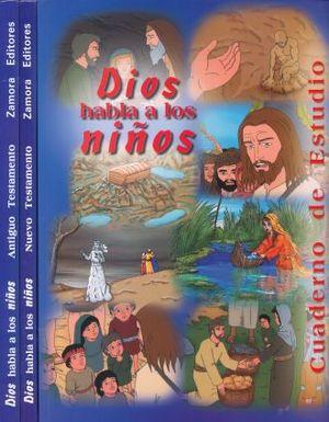 PAQ. DIOS HABLA A LOS NIÑOS / 2 VOLS. + CUADERNO DE TRABAJO / PD.