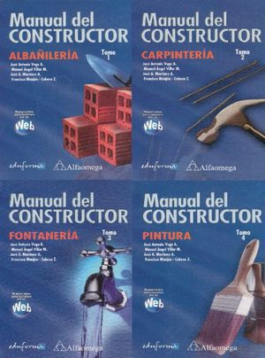 MANUAL DEL CONSTRUCTOR / 4 TOMOS / PD.