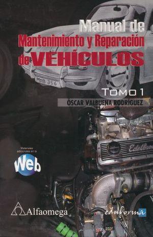 MANUAL DE MANTENIMIENTO Y REPARACION DE VEHICULOS / 4 VOLS. / PD.