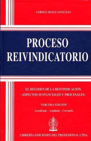 PROCESO REIVINDICATORIO / PD.