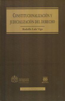 CONSTITUCIONALIZACION Y JUDICIALIZACION DEL DERECHO / PD.