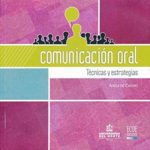 COMUNICACION ORAL. TECNICAS Y ESTRATEGIAS