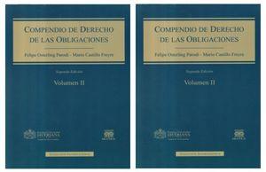 COMPENDIO DE DERECHO DE LAS OBLIGACIONES / DOS TOMOS / 2 ED. / PD.