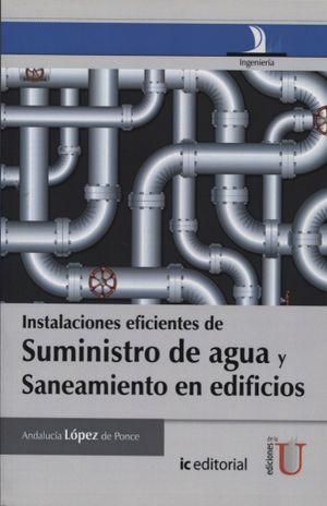 INSTALACIONES EFICIENTES DE SUMINISTRO DE AGUA Y SANEAMIENTO EN EDIFICIOS