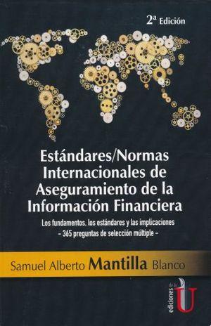 ESTANDARES/NORMAS INTERNACIONALES DE ASEGURAMIENTO DE INFORMACION FINANCIERA