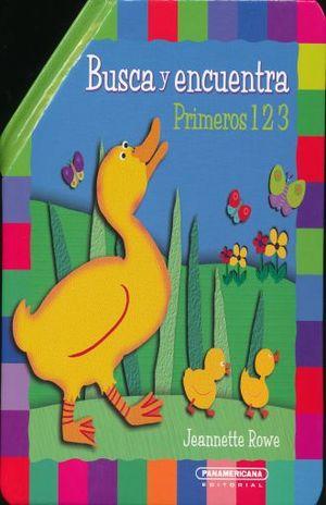 BUSCA Y ENCUENTRA. PRIMEROS 123 / PD.