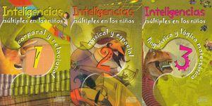 INTELIGENCIAS MULTIPLES EN LOS NIÑOS / 3 VOLS. / PD. (INCLUYE CD)