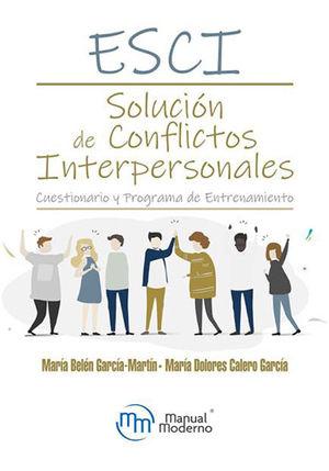 ESCI Solución de conflictos interpersonales