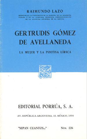 # 226. GERTRUDIS GOMEZ DE AVELLANEDA