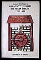 OBRAJES Y TEJEDORES DE NUEVA ESPAÑA 1700 1810