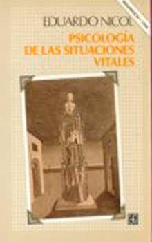 PSICOLOGIA DE LAS SITUACIONES VITALES