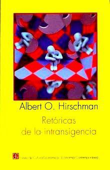 RETORICAS DE LA INTRANSIGENCIA