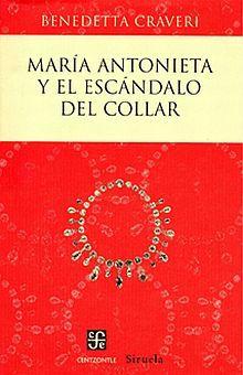 MARIA ANTONIETA Y EL ESCANDALO DEL COLLAR / PD.