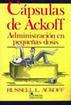 CAPSULAS DE ACKOFF. ADMINISTRACION EN PEQUEÑAS DOSIS