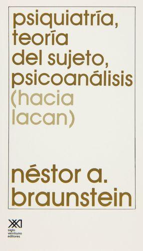 PSIQUIATRIA TEORIA DEL SUJETO PSICOANALISIS (HACIA LACAN)