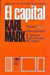CAPITAL, EL / TOMO I / VOL. 3 / LIBRO PRIMERO