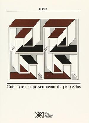 GUIA PARA LA PRESENTACION DE PROYECTOS