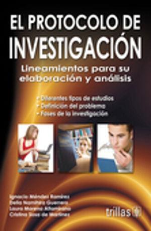 PROTOCOLO DE LA INVESTIGACION, EL