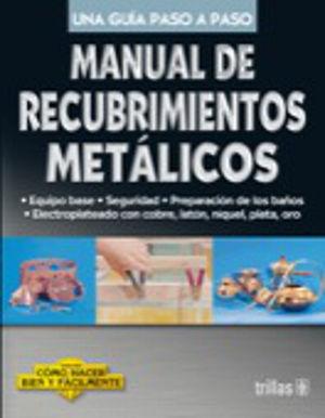MANUAL DE RECUBRIMIENTOS METALICOS