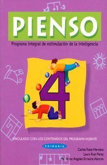 PIENSO 4. PROGRAMA INTEGRAL DE ESTIMULACION DE LA INTELIGENCIA PRIMARIA