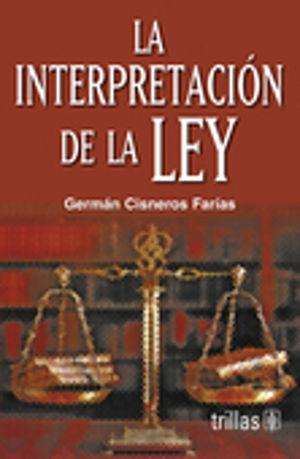 INTERPRETACION DE LA LEY, LA