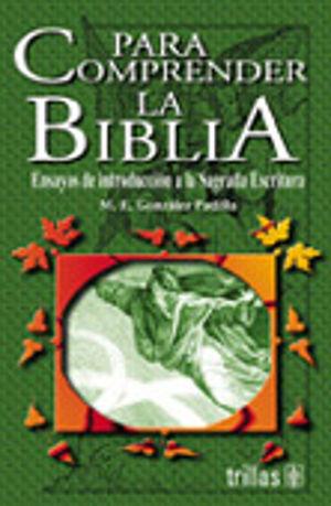 PARA COMPRENDER LA BIBLIA