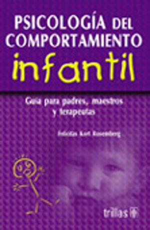 PSICOLOGIA DEL COMPORTAMIENTO INFANTIL