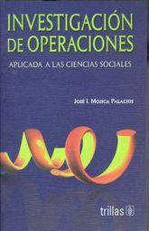 INVESTIGACION DE OPERACIONES APLICADA A LAS CIENCIAS SOCIALES