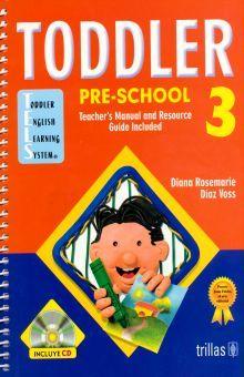 TODDLER PRE-SCHOOL 3 (INCLUYE CD)
