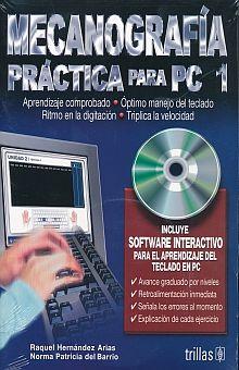 MECANOGRAFIA PRACTICA PARA PC 1. SECUNDARIA (INCLUYE CD)