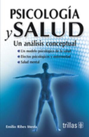 PSICOLOGIA Y SALUD. UN ANALISIS CONCEPTUAL